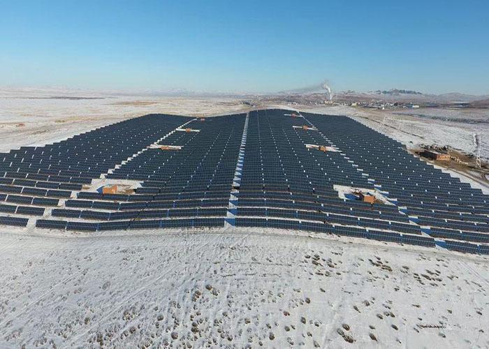 Sistema di scaffalature a terra solare galvanizzato 1500KW in Giappone