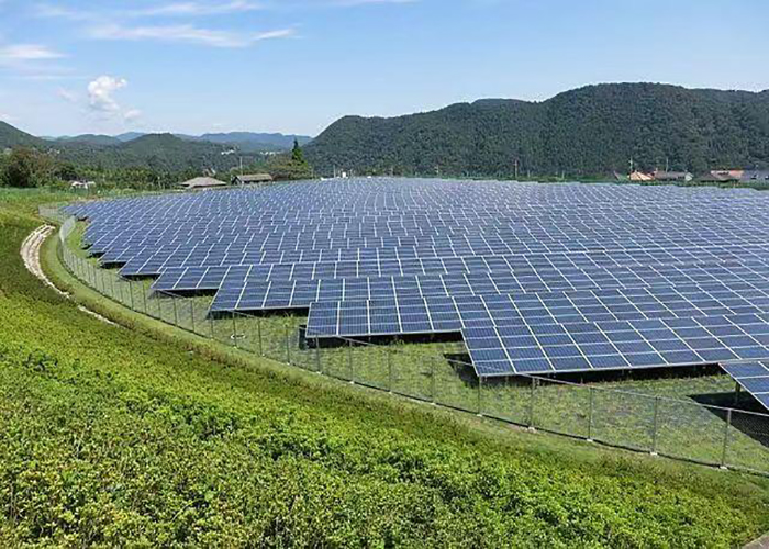 2000KW Solar Aluminum Ground Bracket System In Indonesia