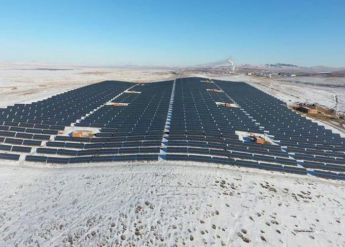 2500KW Solar Pile Ground Mounting System in Japan