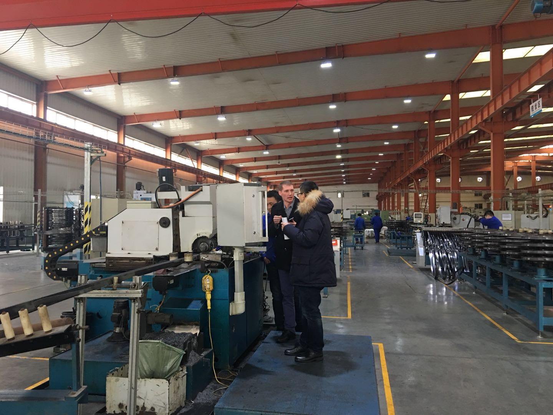 USA Gleason Engineer Visiting Our Company