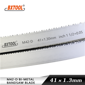 band saw blades for cutting metals