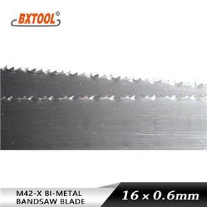 cutting metals band saw blades