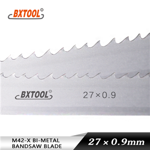 cutting metal band saw blades