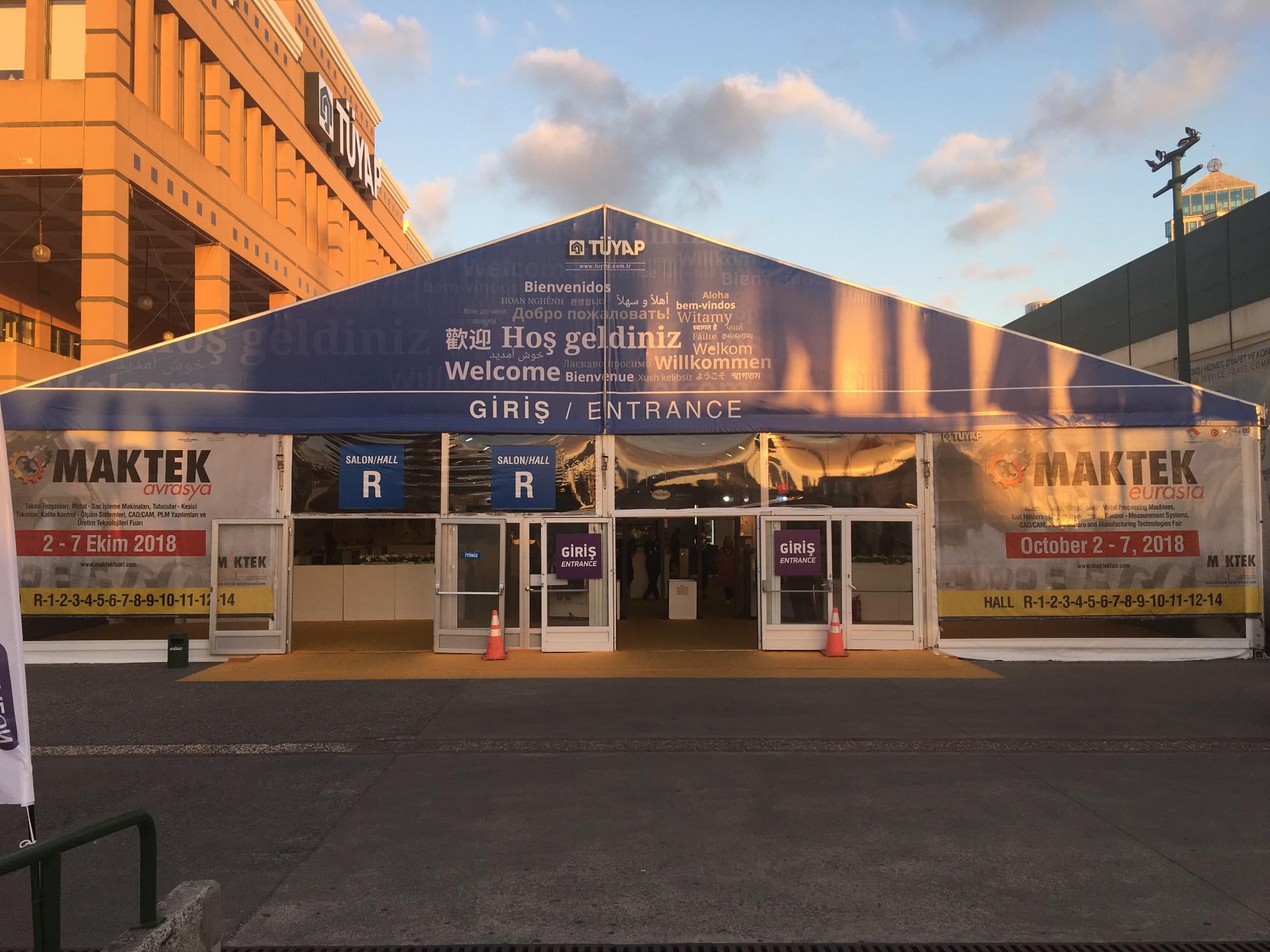 Successful MAKTEK EUROASIA fair in Turkey