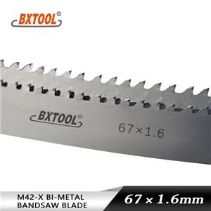 M42-X band saw blades 67mm width