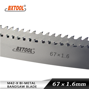 M42-X band saw blades 80mm width