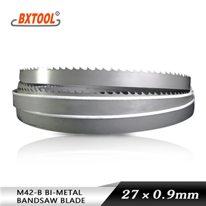 M42-B band saw blades Bohler materials
