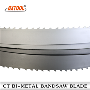 CT carbide tipped band saw blades
