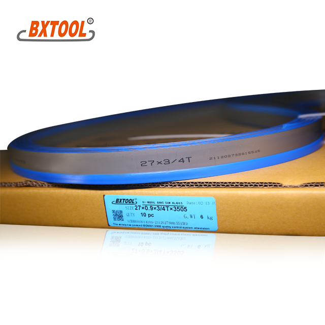 HS band saw blades 27mm Manufacturers, HS band saw blades 27mm Factory, Supply HS band saw blades 27mm