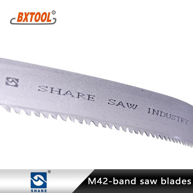 Share Brand Bi-metal Band Saw Blades Manufacturers, Share Brand Bi-metal Band Saw Blades Factory, Supply Share Brand Bi-metal Band Saw Blades