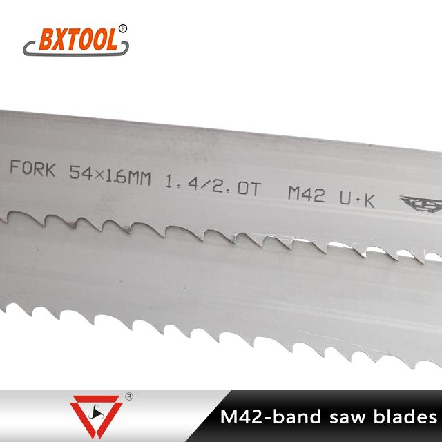 Fork Bi-metal Band Saw Blades Manufacturers, Fork Bi-metal Band Saw Blades Factory, Supply Fork Bi-metal Band Saw Blades