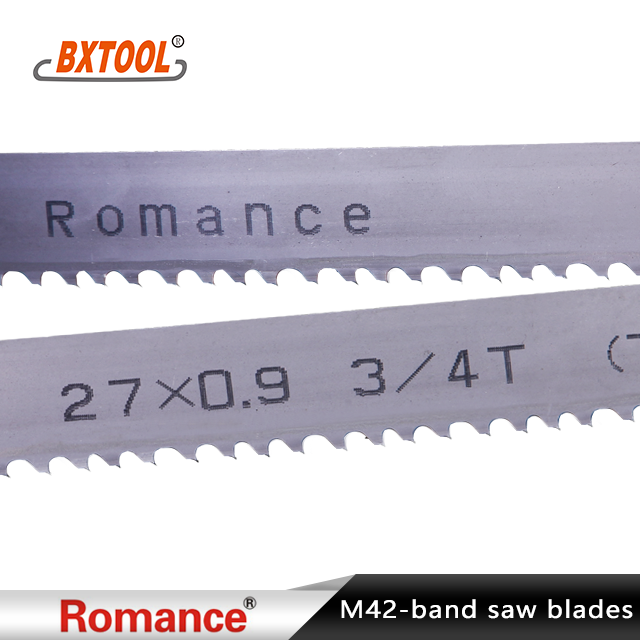 Romance Brand Bi-metal Band Saw Blades Manufacturers, Romance Brand Bi-metal Band Saw Blades Factory, Supply Romance Brand Bi-metal Band Saw Blades