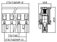 XY2500FP-7.5 XY2500FQ-7.62