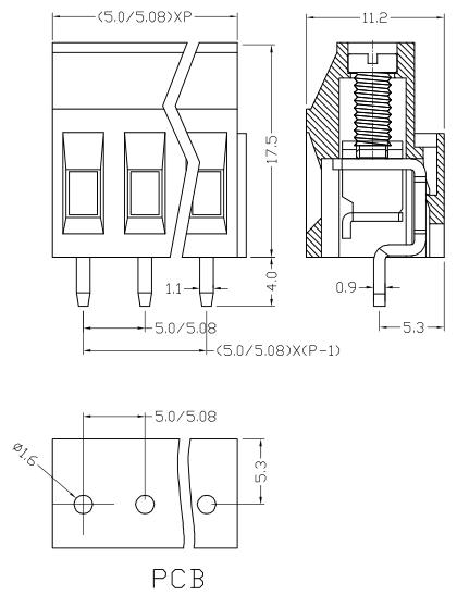 XY129VB-5.0 XY129VB-5.08