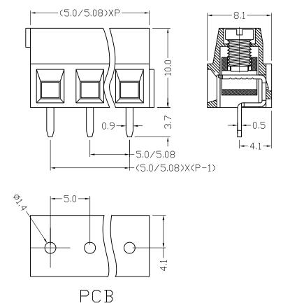 XY304V-5.0 XY304V-5.08