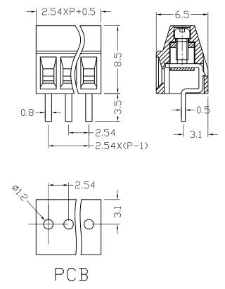 XY308-2.54