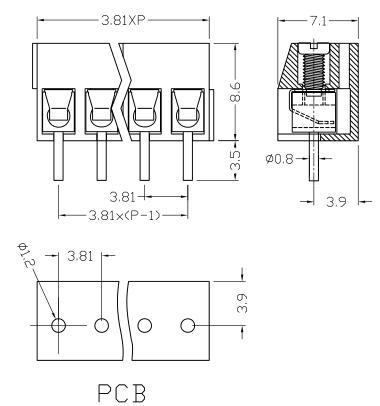 XY340V-3.81