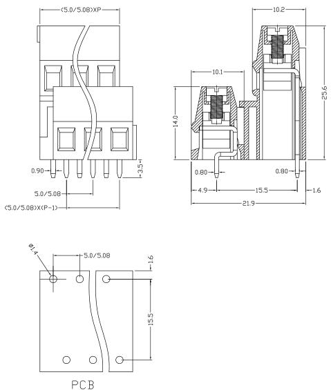 XYEK&EEK500A-5.0 XYEK&EEK500A-5.08
