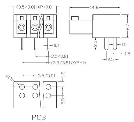 XY2500A-3.5 XY2500A-3.81