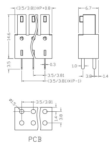 XY2500B-3.5 XY2500B-3.81