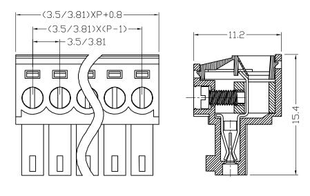 XY2500FG-3.5 XY2500FC-3.81