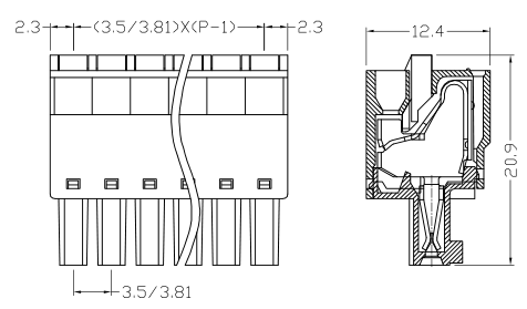 XY2500FT-3.5 XY2500FD-3.81