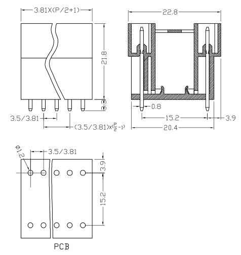 XY2500HVF-3.5 XY2500HVE-3.81