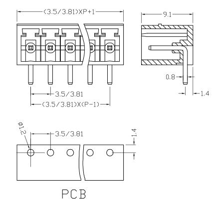 XY2500RG-3.5 XY2500RF-3.81