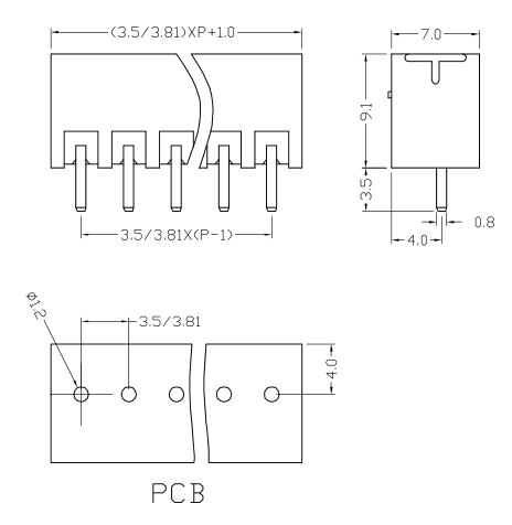 XY2500VF-3.5 XY2500VE-3.81