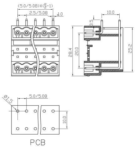 XY2500HRA-5.0 XY2500HRB-5.08