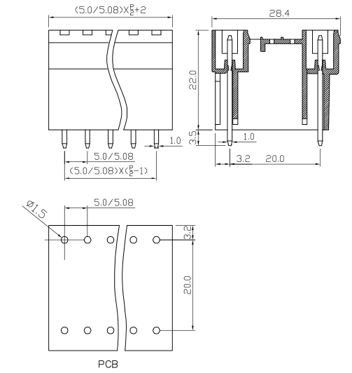 XY2500HVA-5.0 XY2500HVB-5.08