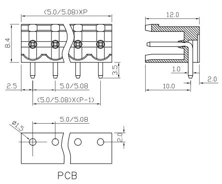 XY2500RA-5.0 XY2500RC-5.08