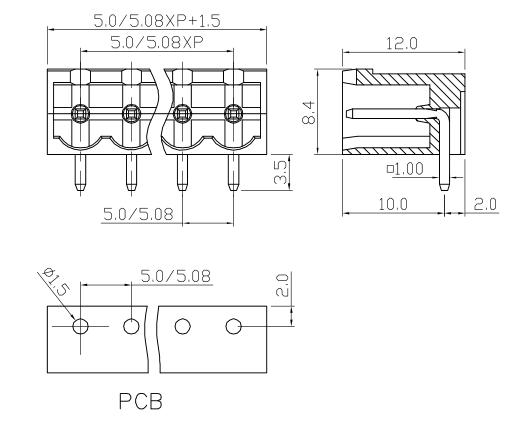 XY2500RB-5.0 XY2500RD-5.08