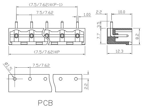 XY2500RP-7.5 XY2500RQ-7.62