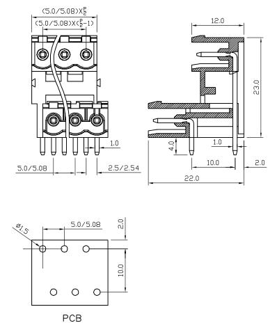 XY2500TRA-5.0 XY2500TRC-5.08