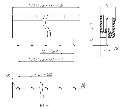 XY2500VP-7.5 XY2500VQ-7.62