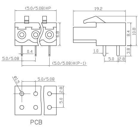 XY2500A-5.0 XY2500A-5.08