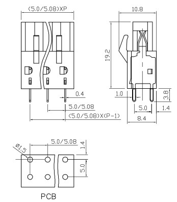 XY2500B-5.0 XY2500B-5.08