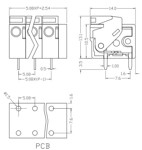 XY122R-5.08