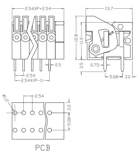 XY123R-2.54
