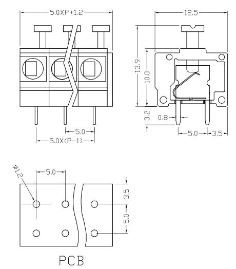 XY124VA-5.0 XY124VB-5.08