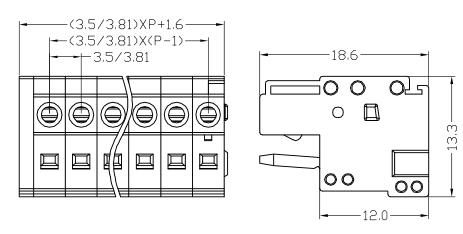 XY2505F-3.5 XY2505F-3.81