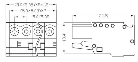 XY2505F-5.0 XY2505F-5.08