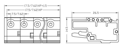 XY2505F-7.5 XY2505F-7.62