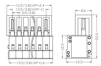 XY2505FR-3.5 XY2505FR-3.81