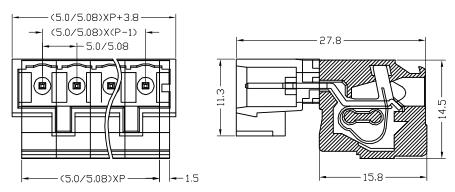XY2505FRB-5.0 XY2505FRB-5.08