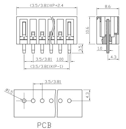 XY2505VC-3.5 2505VC-3.81