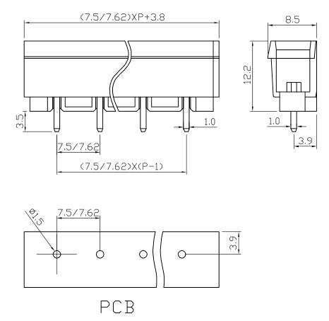 XY2505VC-7.5 2505VC-7.62