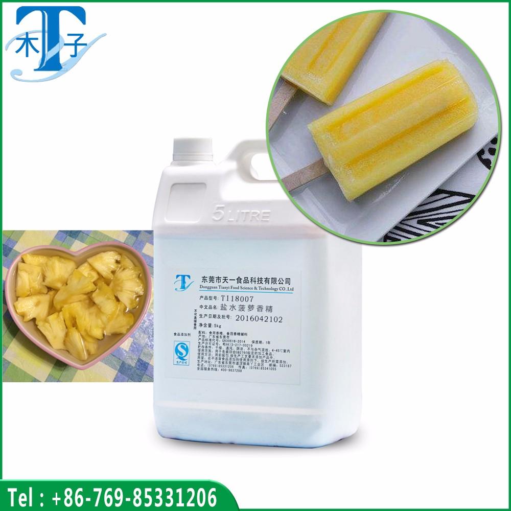 Brine Pineapple Flavor Use for Ice Cream