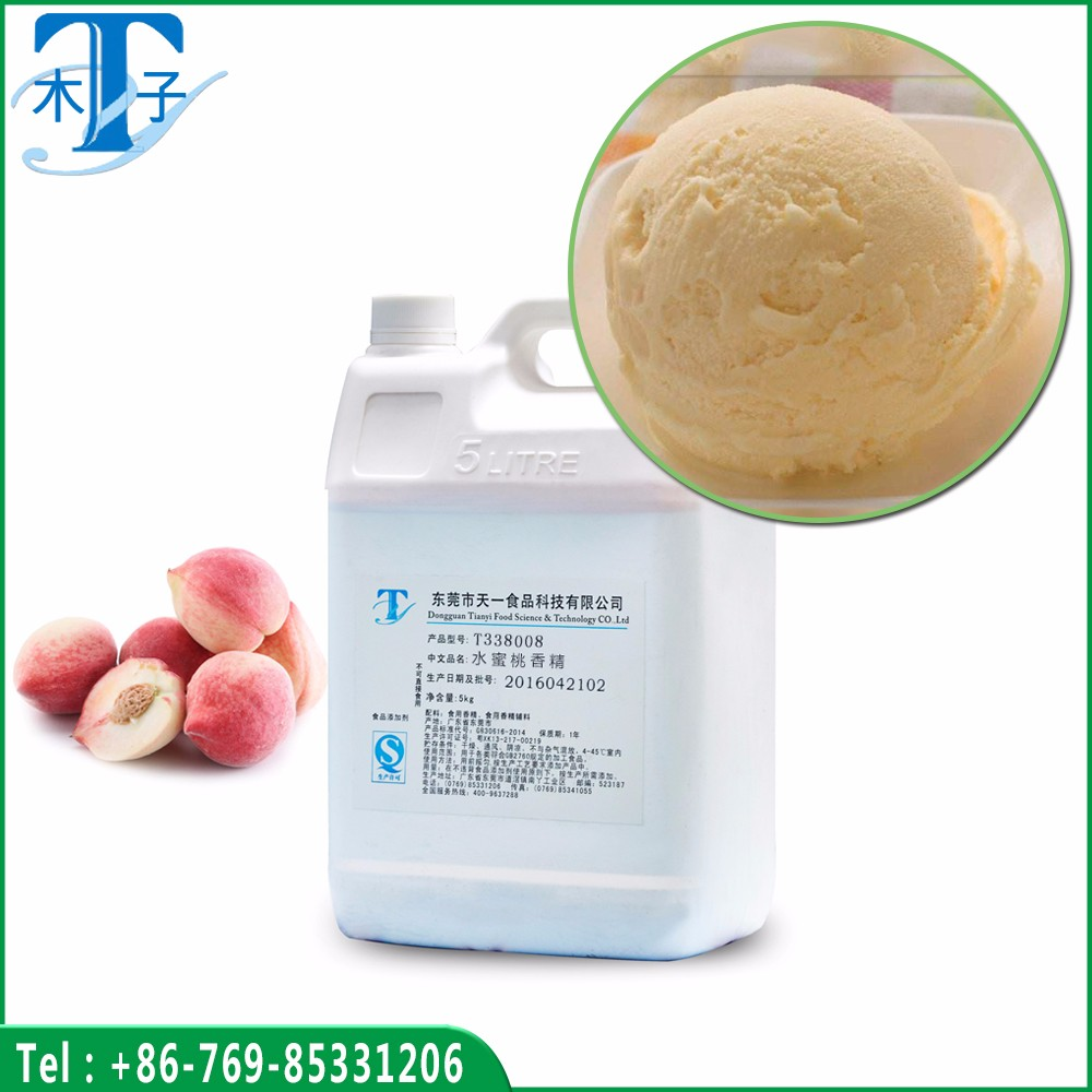 Natural Peach Flavor Use for Ice Cream